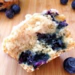 Blueberry Muffins with Streusal Topping