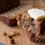 Classic Banana Bread - moist, dense, slightly springy with the perfect flavor thanks to lots of bananas, cinnamon & nutmeg | www.justsotasty.com