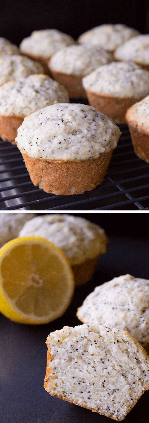 Lemon Poppy Seed Muffins. Super moist, fluffy, buttery & with that perfect lemon flavor - this simple muffin recipe is perfect for summer! www.justsotasty.com