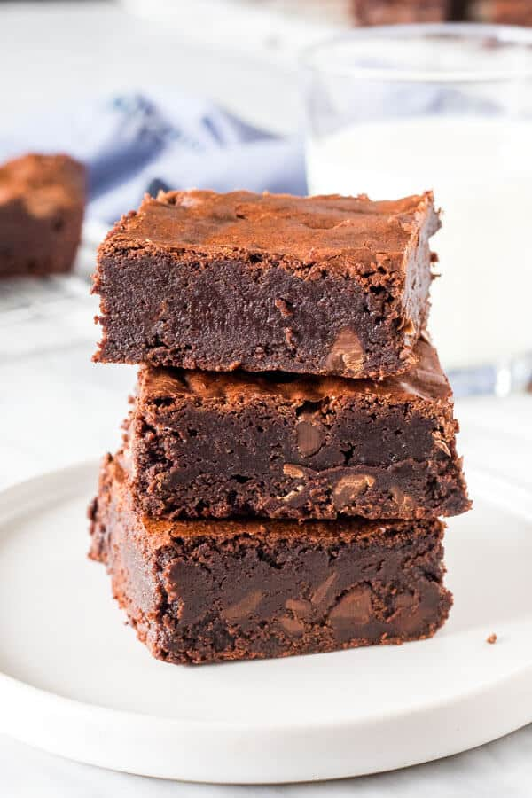 Triple Chocolate Brownies Just So Tasty