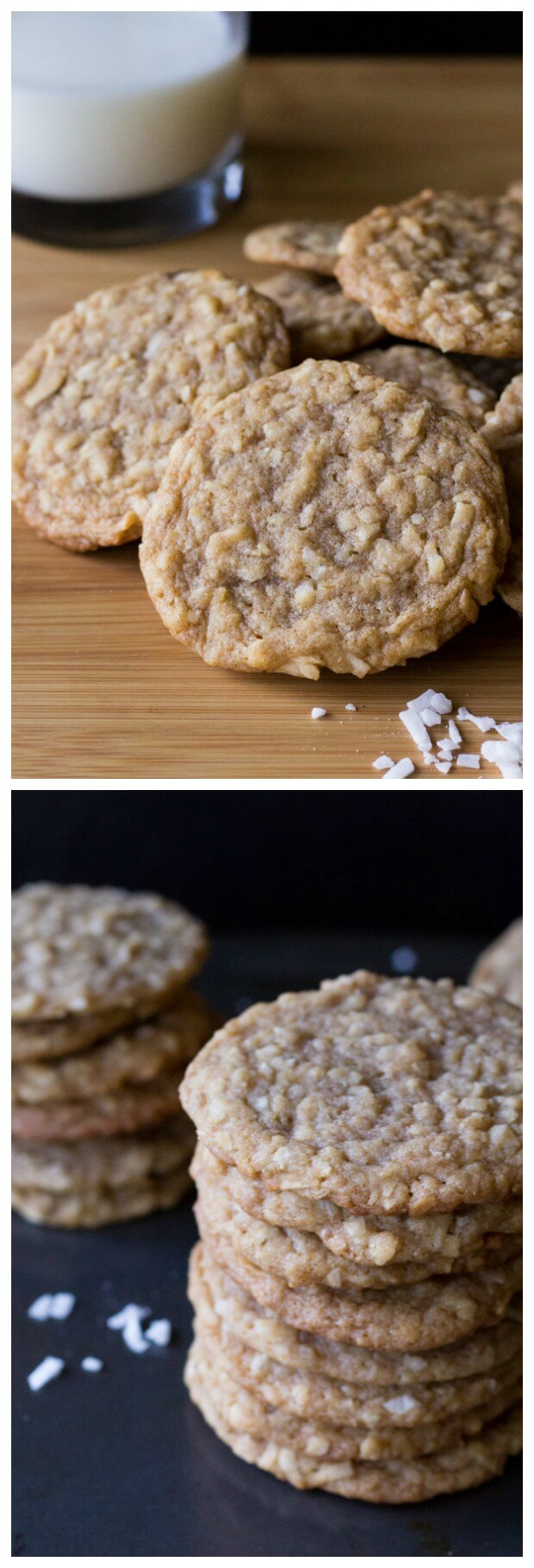 Super soft & chewy coconut cookies. With a slight hint of caramel - these delicate cookies are so simple and delicious.