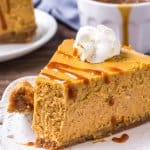Pumpkin Cheesecake - Creamy, Smooth & Perfect for Thanksgiving