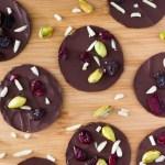 Dark Chocolate Fruit & Nut Clusters