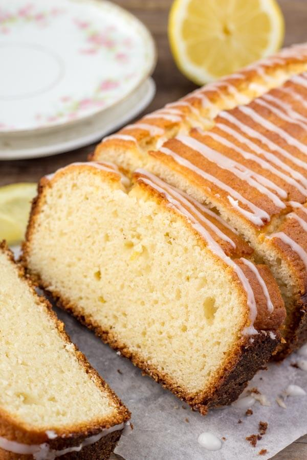 Lemon Loaf Recipe - this turns out with the most delicious lemon flavor, and a tender, moist, buttery texture.