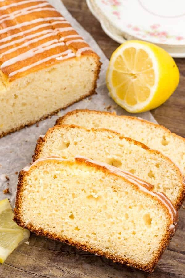 This Lemon Loaf is moist, tender, filled with real lemon flavor and way better than Starbucks