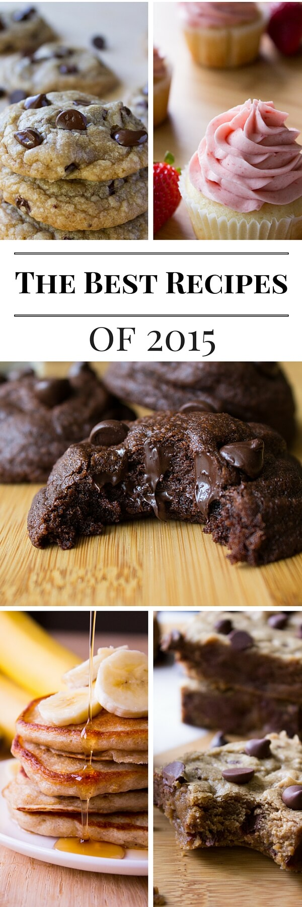 Cookies, Bars, Breakfasts.... And of Course Lots of Chocolate. Check out the top 10 recipes from Just So Tasty in 2015