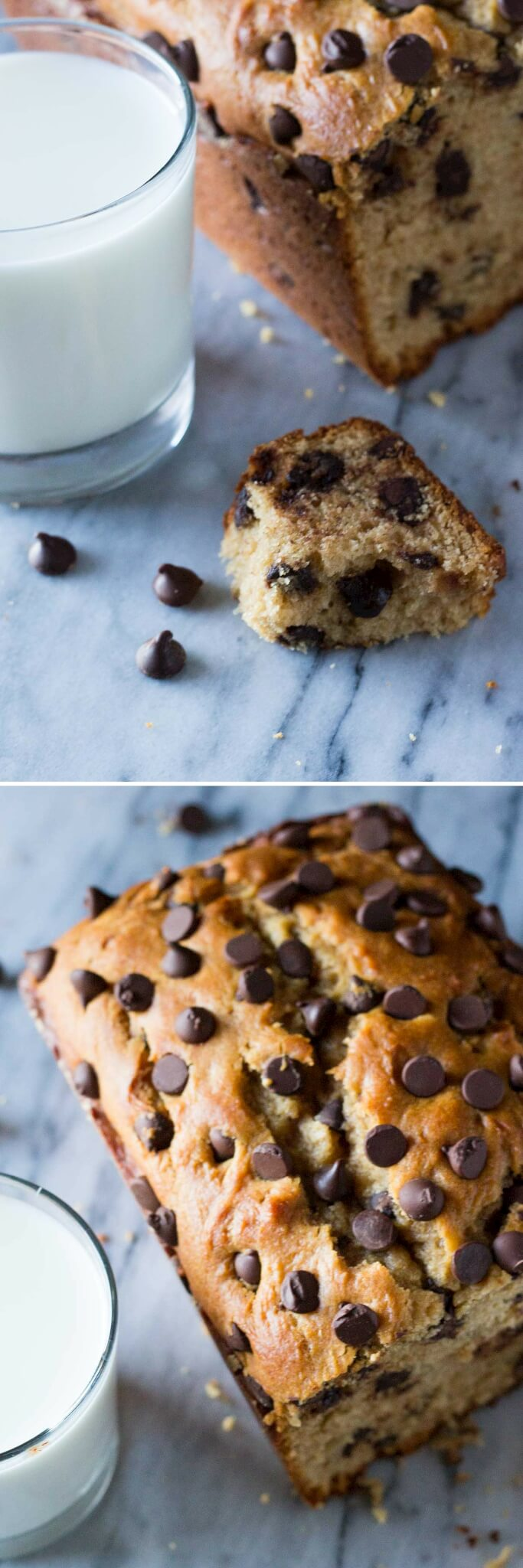 Skip the toast and make this super soft, extra flavorful, ridiculously moist Peanut Butter Chocolate Chip Bread.