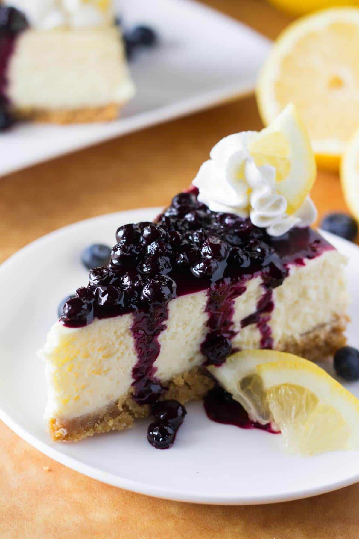 Blueberry sauce for cheesecake. This delicious blueberry sauce is perfect topping.