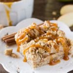 Apple Oatmeal Crumb Bars