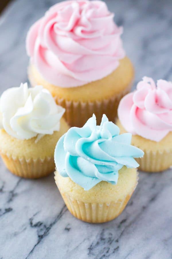 mini vanilla cupcakes scratch