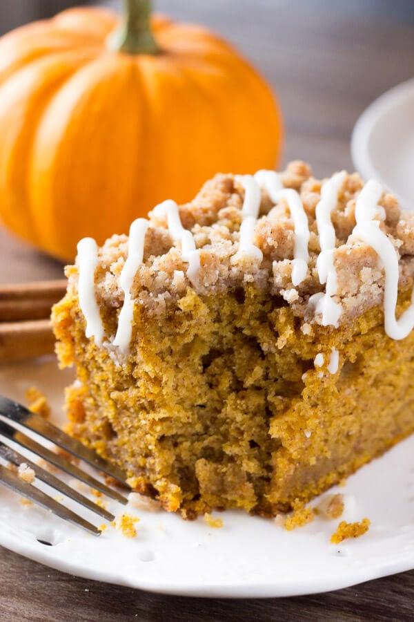 Pumpkin Coffee Cake Just So Tasty