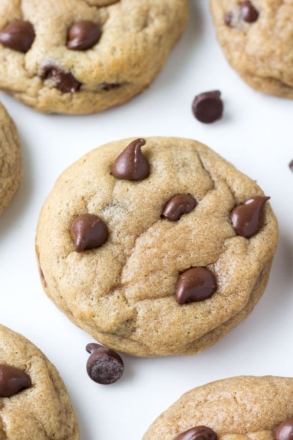 Peanut Butter Banana Chocolate Chip Cookies Just So Tasty