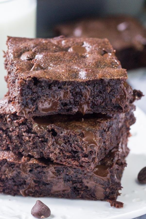 One Bowl Chewy Brownies Just So Tasty