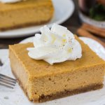 Pumpkin Cheesecake Bars
