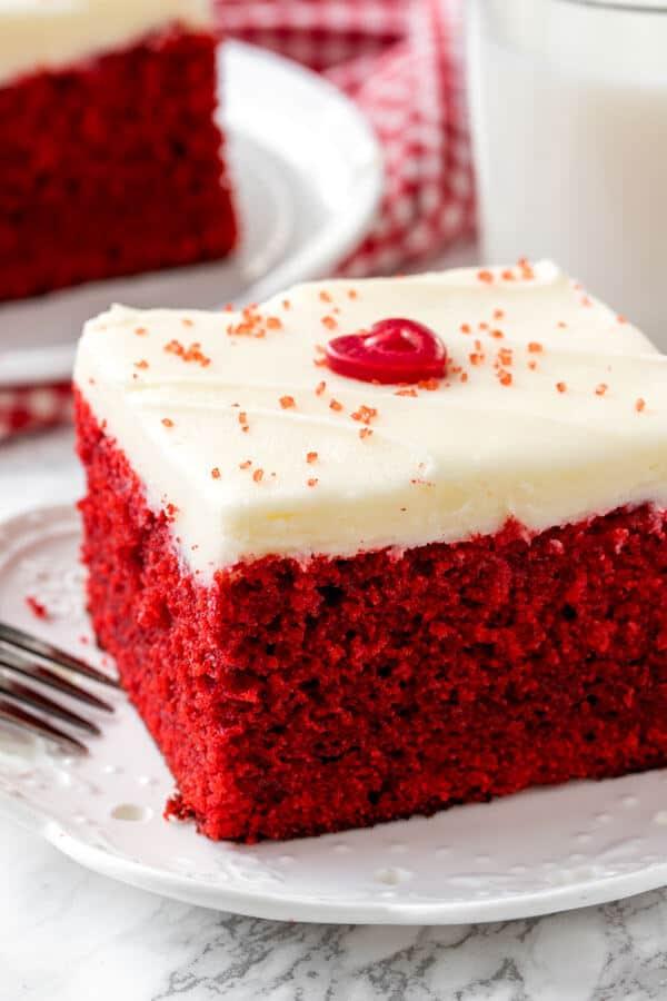 Easy Red Velvet Cake Just So Tasty