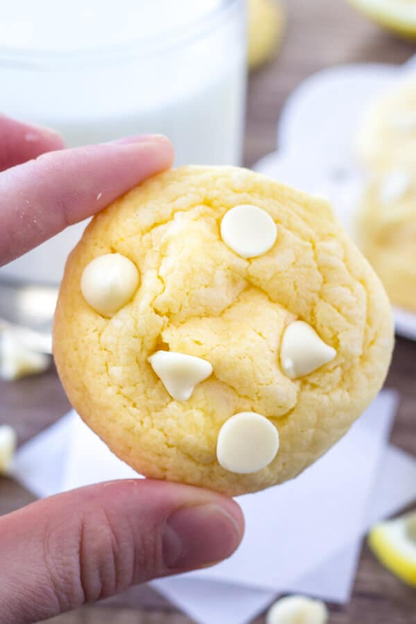 Lemon Brownies Made With Cake Mix