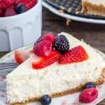 The perfect cheesecake recipe - smooth, creamy, rich and decadent without ever being too heavy. Learn all the tricks.