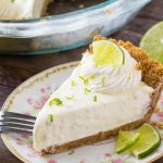 Easy key lime pie recipe - this no bake key lime pie is smooth, creamy, and has a delicious key lime flavor.