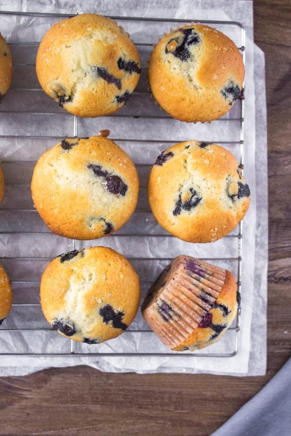 how to make blueberry muffins better