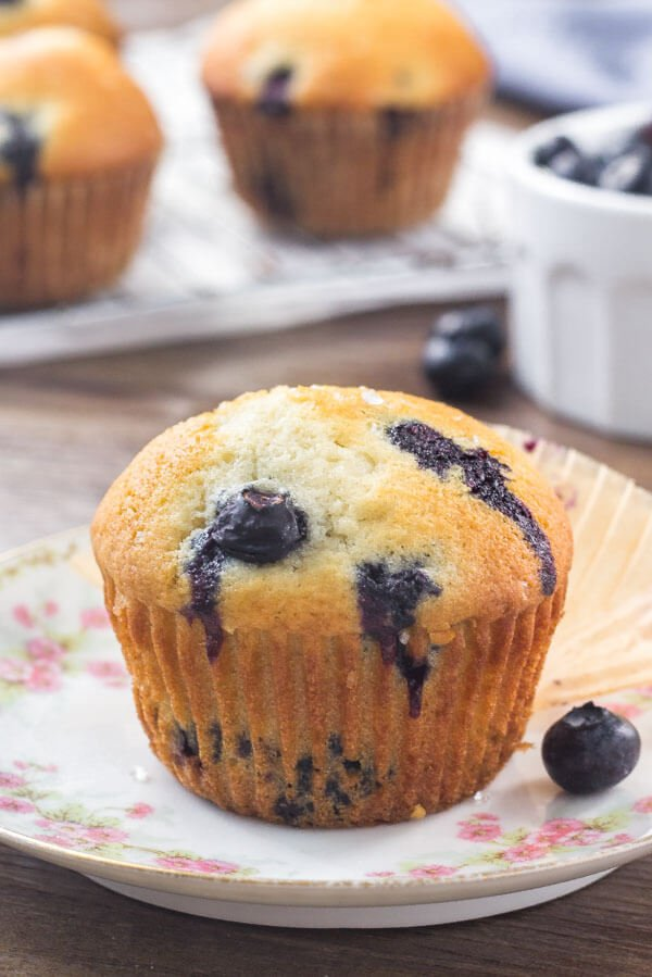 blueberry muffin recipe easy