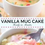 Vanilla Mug Cake - Moist, Flavorful Cake that's Ready in ...