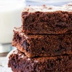 Homemade Brownies – Chewy, Fudgy & Simply the Best Brownie Recipe