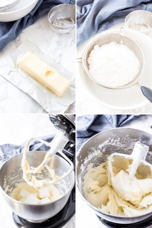 How to make cream cheese frosting - step by step guide.