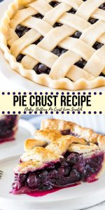 A step-by-step tutorial showing you exactly how to make homemade pie crust. This recipe is made with both butter and shortening for a pie crust recipe that's flaky, buttery, and perfect for sweet or savoury pies.#pies #homemade #piecrust #piedough #tutorial #recipe