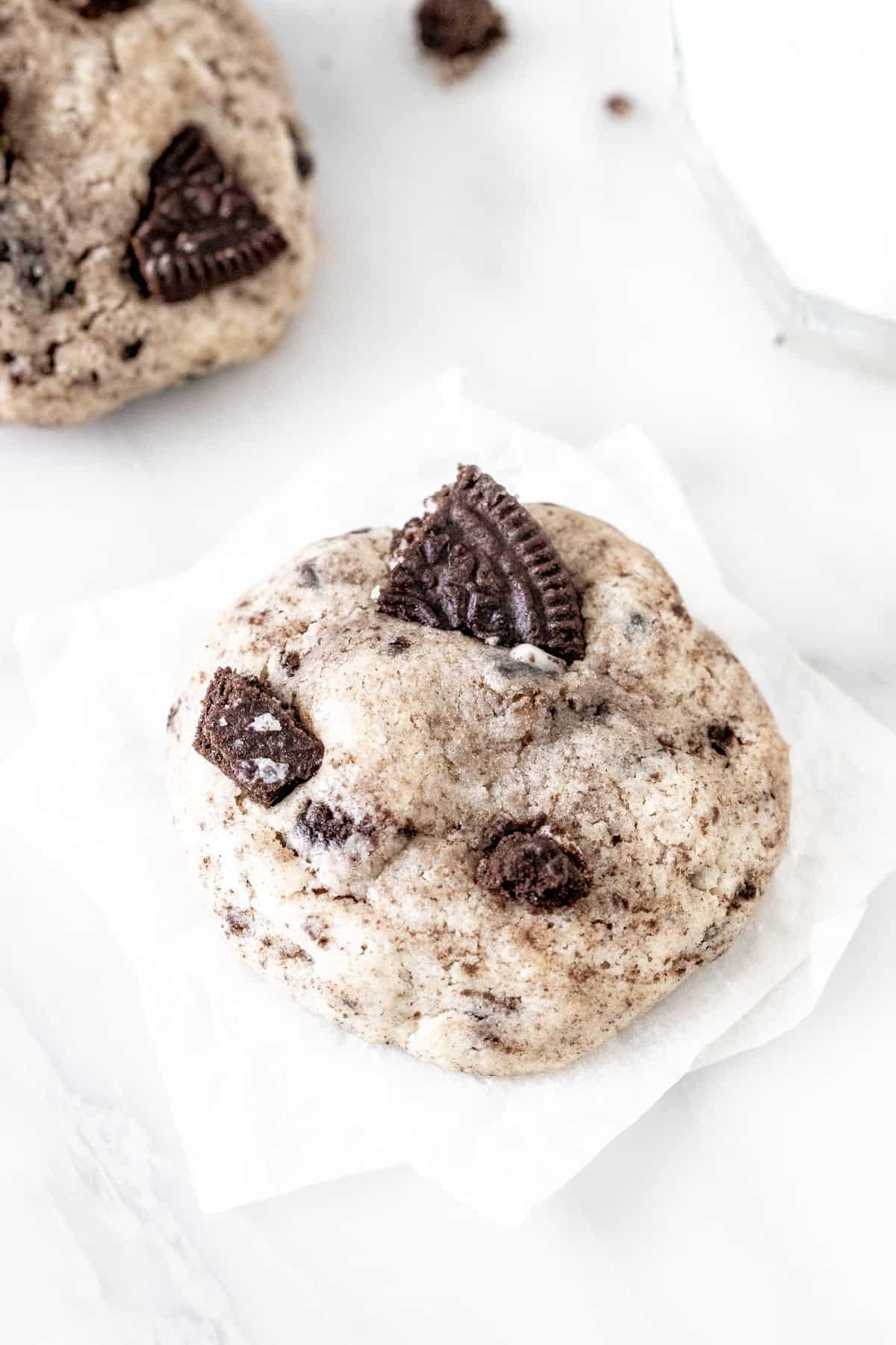 Oreo Cream Cheese Cookie