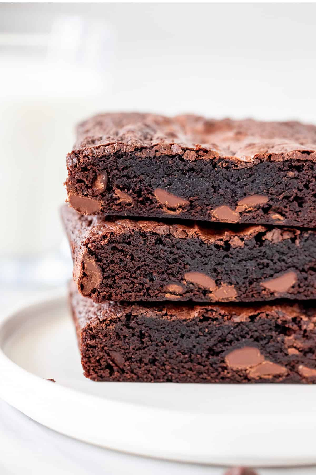 Stack of 3 brownies